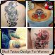 Skull Tattoo Design For Women by Bregidau OK