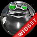 Poweramp Widget Green Frog by Maystarwerk Skins & Widgets Vol.1