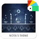 Moon Flower Xperia Theme by Nota Dao