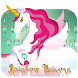 Vivid Rainbow Unicorn wings keyboard