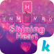 Shining Heart Keyboard Theme by Emoji Keyboard Team