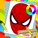 Learn How To Draw Spider Man Easy Steps by New games for kids