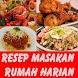 Resep Masakan Rumah Harian