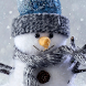 live snowman wallpaper by motion interactive