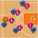 Basketball ☆ strategy board by daisuke fujimoto