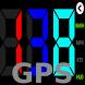 GPS HUD Speedometer by KHTSXR