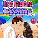 First Valentine Kissing by 85games