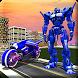Real Moto Robot Transform: Flying Bike Robot Wars by crushiz