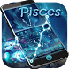 Pisces Zodiac keyboard Theme by Fly Liability Themes