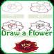 Learn to Draw Flowers by LightspeedApps
