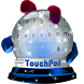 Looking Up TouchPal Skin by New Themes