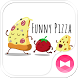 Funny Pizza +HOME Theme by +HOME by Ateam