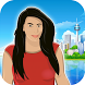 Kim Plummet Sky Free Fall by Prism101