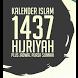 Kalender 1437 Hijriyah by Ahmad M. Nidhom