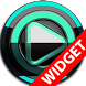 Poweramp widget - BLACK Mint