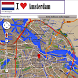Amsterdam map by Borgo Map