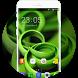 Theme for Samsung Galaxy J5 Pro Green Wallpaper by Theme Guru