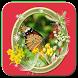 กรอบรูปดอกไม้ by books app