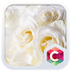 White Roses CLauncher Theme by CG-Live-Wallpapers