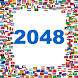 2048 - 8192 Puzzling Flags by Geek Apps