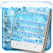 Blue winter keyboard theme by Super Cool Keyboard Theme