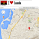 Luanda map by Golden Mapas
