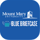 Mount Mary Blue Briefcase by Purple Briefcase Inc.