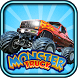 Blaze In Danger Monster Truck by KidsZonia