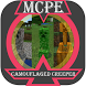 Camouflaged Creeper Mod by Son OF MCPE DEV