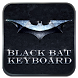 Black Bat Keyboard Theme by Keyboard Design Paradise