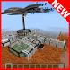 Martian war MCPE map by Five shots games