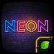 Neon GO Keyboard Theme & Emoji by Jiubang