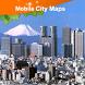 Tokyo Street Map by Dubbele.com