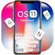 Keyboard for Os11 by Keyboard Theme Factory