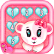 Glitter Keypad Lock Screen App by Cool Girl Apps and Games