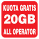 Kuota Gratis 20GB 2017 by Atala Studio