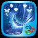 Blue Crystal Go Launcher Theme