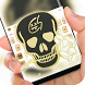 gold skull Theme for Chainsmokers by Sexy Theme for Smart Phone