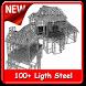 Light Steel Frame Design by SKATEN STUDIO