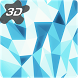 Crystal Edge 3D Parallax Live Wallpaper by Arthur Arzumanyan