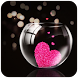 Pink Love Heart Theme by Theme Designer