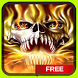 Evil Fire Skull Live Wallpaper by Dark Manta Studios