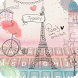 Love Paris Keyboard Theme by 3D / Animated Keyboard Themes