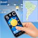 Clima de temperatura o Brasil by Apps de bromas, tarot, miedo, terror, frases y más