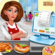 High School Cafe Cashier Girl - Kids Game by Tenlogix Games