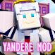Yandere mod for Minecraft PE by supryatkin