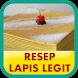 Resep Lapis Legit