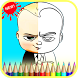 Coloring Book for Baby Boss by Games Industry