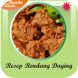 Rendang Daging Resep Masakan by Bunda Airin