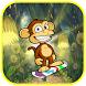 Jungle Monkey Jump Skate by Runner Run Rush Adventure Game Free